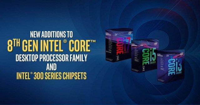 Восьмиядерный Intel Coffee Lake-S выйдет в двух версиях с разным TDP