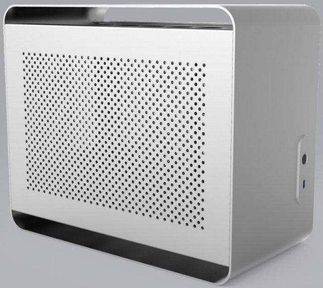 Streacom DA2 — компактный корпус с поддержкой 280-мм радиаторов