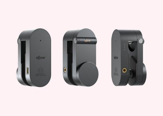 Elbow — современный кассетный плеер в виде клипсы
