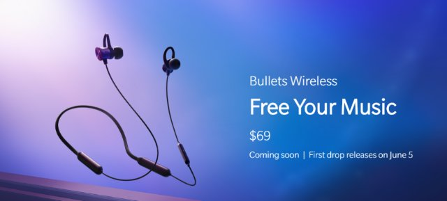 Анонс OnePlus Bullets Wireless: беспроводные наушники с быстрой зарядкой и Google Ассистентом
