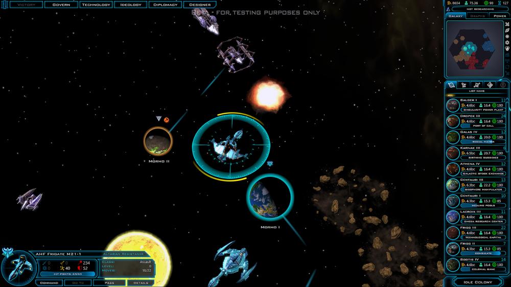 Хардкорную стратегию Galactic Civilizations 2 бесплатно раздают в Steam