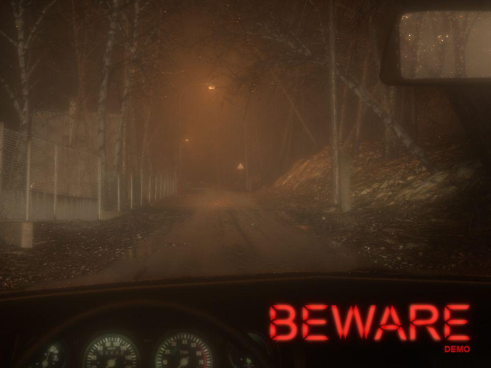 В сети появилась первая демка Beware — гоночного симулятора с элементами хоррора
