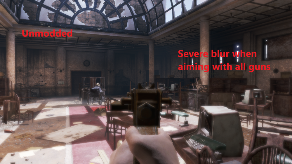 Новый мод для Fallout 4 перерабатывает погодные эффекты и убирает размытость