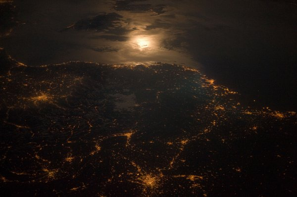 Рязанцы увидели свой город из космоса