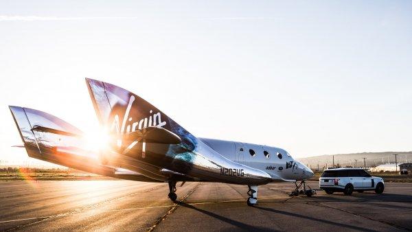 Virgin Galactic провела испытания туристического космолета VSS Unity