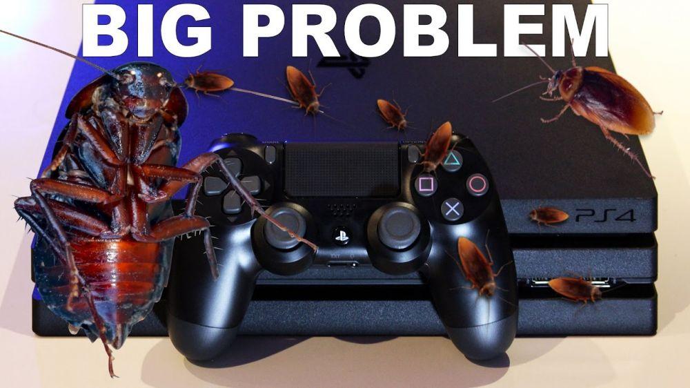 Владельцы PS4 сталкиваются с глобальным нашествием тараканов