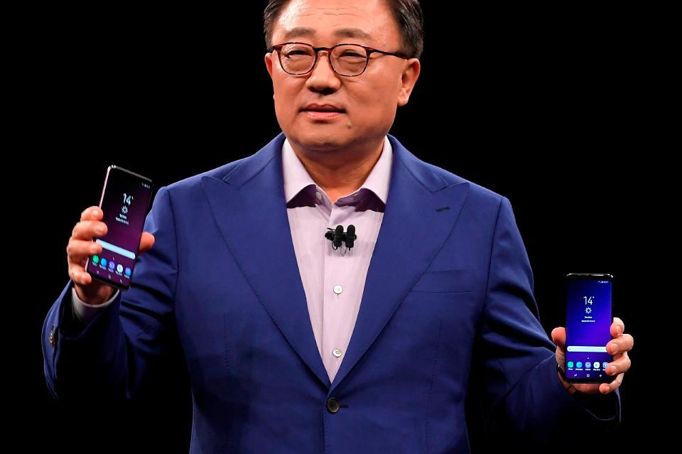 Samsung Galaxy Note 9 может получить усовершенствованный сканер радужки глаза