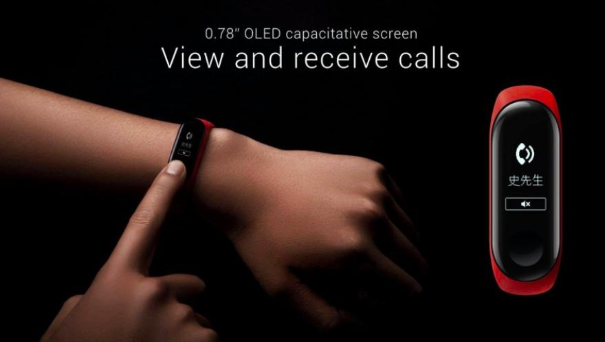 Представлен Xiaomi Mi Band 3 с OLED-экраном и NFC от $26