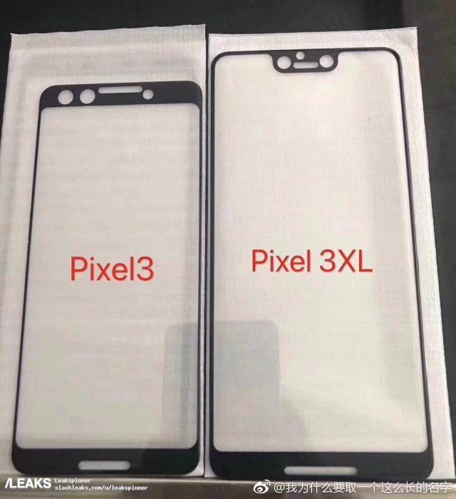 Рассекречен дизайн Google Pixel 3 и Pixel 3 XL. Без «моноброви» никуда?