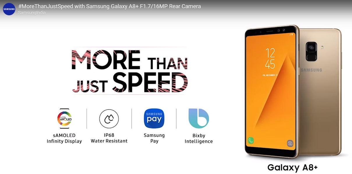 Samsung троллит OnePlus и уверена, что Galaxy A8+ лучше OnePlus 6