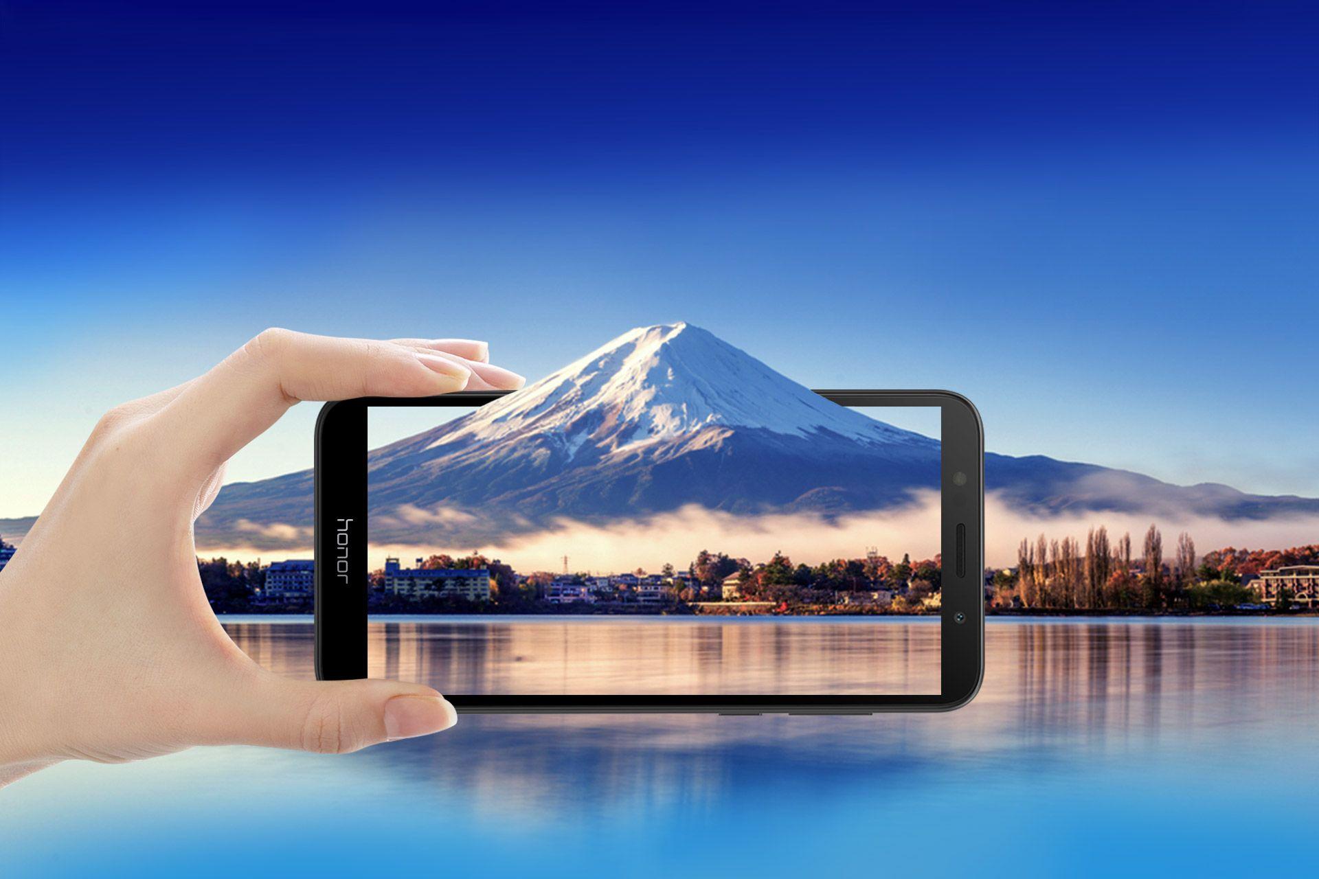 Вышел бюджетный Honor 7S с FullView-экраном чипом MediaTek