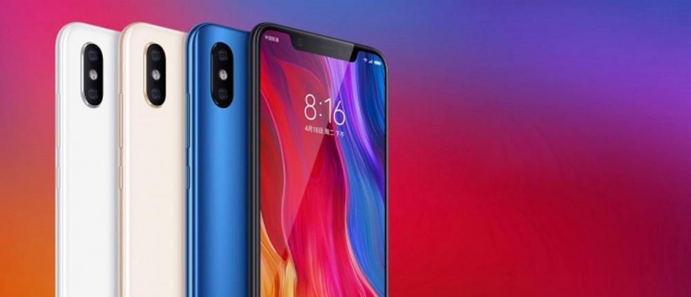 Xiaomi представила свой флагман-смартфон Mi 8 с мощнейшим 8-ядерным процессором