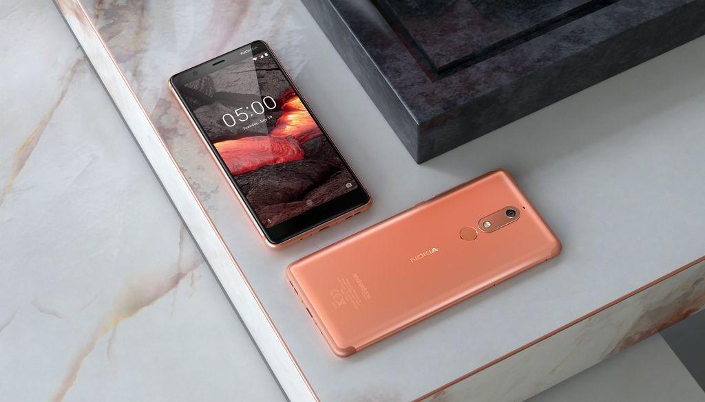 Анонс Nokia 2.1, Nokia 3.1 и Nokia 5.1: характеристики, цена и старт продаж