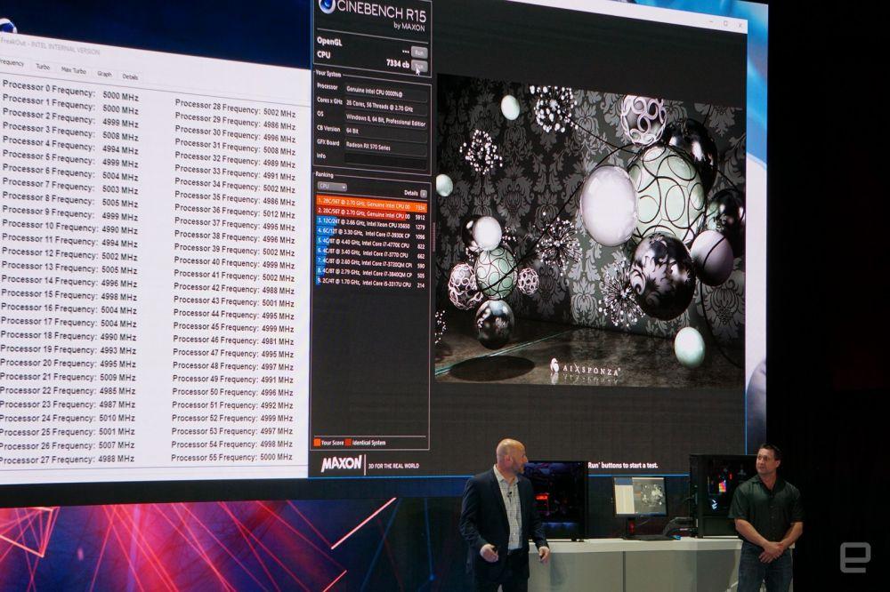 Intel выпустит 28-ядерный процессор с 5 ГГц к концу года