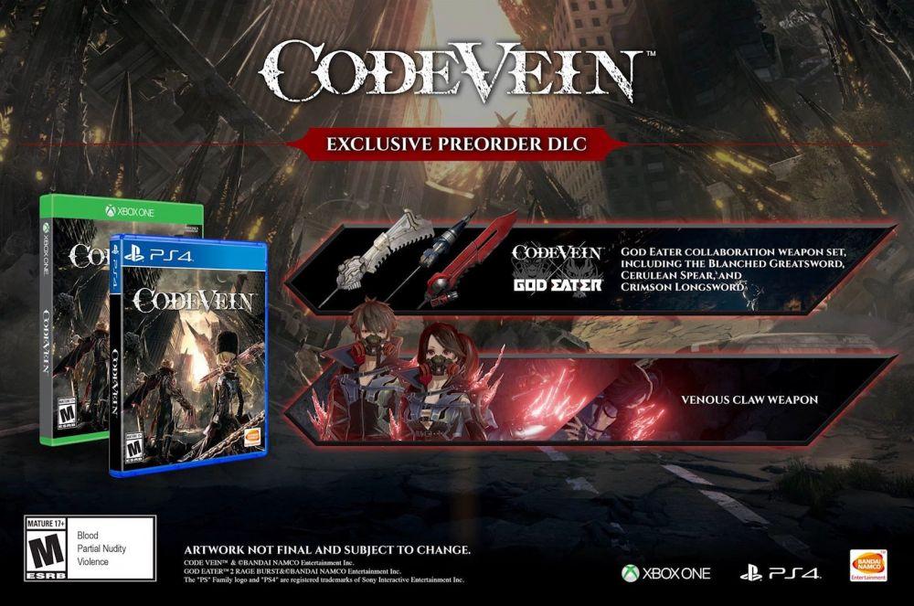В новом трейлере Code Vein раскрыли дату выхода игры