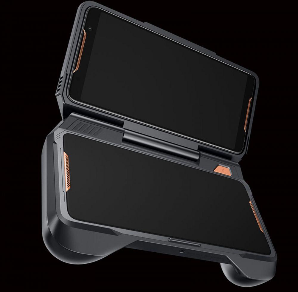 ASUS анонсировала геймерский смартфон ROG Phone с дополнительным экраном и контроллерами