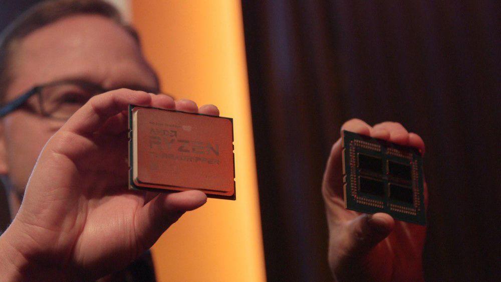 Процессор AMD Threadripper второго поколения имеет 32 ядра