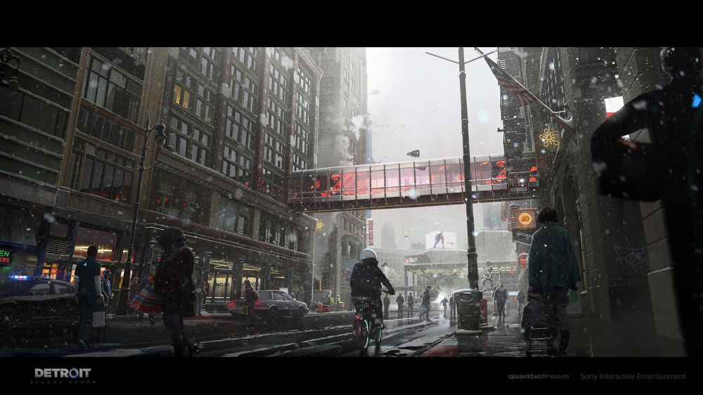 Художники показали удивительные арты Detroit: Become Human