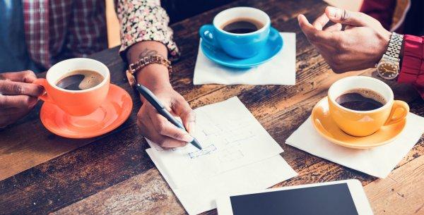 Ученые: Кофе сближает коллектив и улучшает его эффективность