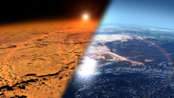 NASA обнаружило на Марсе молекулы органических соединений