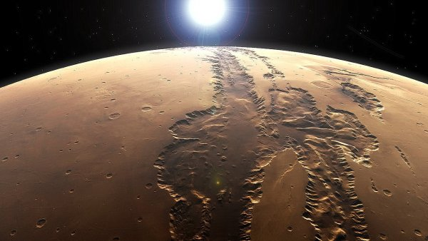 Уфолог заявил о захороненном гуманоиде на Марсе