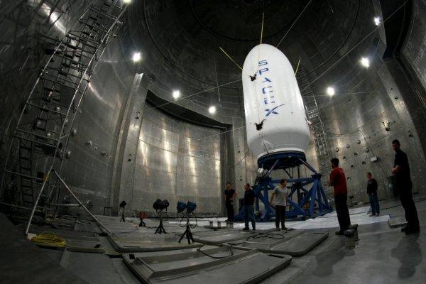 Space X возведет ЦУП и ангары на мысе Канаверал для ракет Falcon