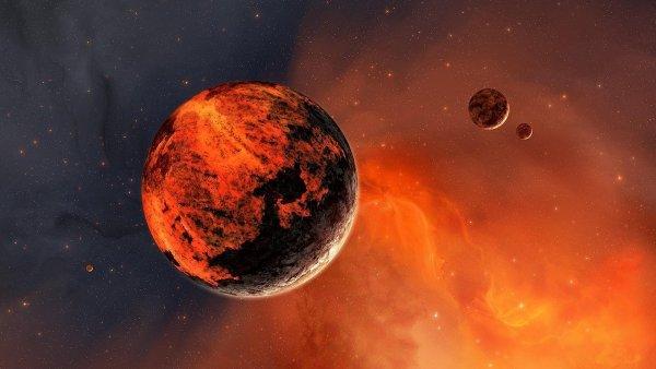 Ученые NASA сообщили о гигантской пыльной буре на Марсе