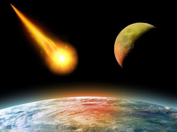 Ученые: Мелкий астероид врезался об Землю и попал на видео