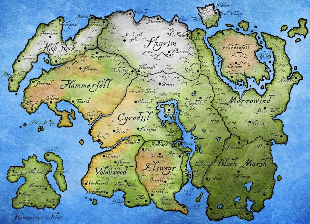 Локация в трейлере TES 6, скорее всего, — провинция Хай Рок, что к западу от Скайрима. Вот почему