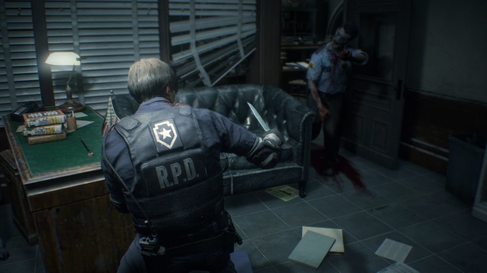 Resident Evil 2 Remake создается на движке Resident Evil 7 (скриншоты)