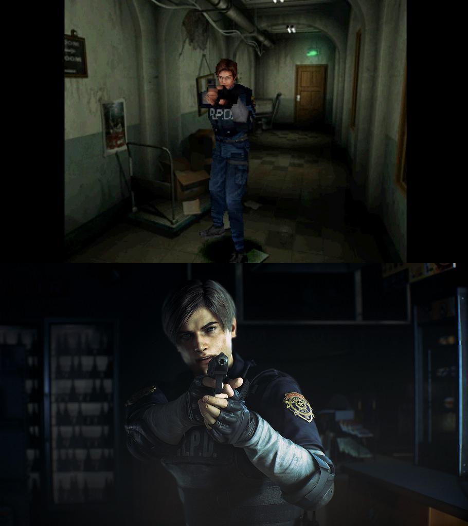 Посмотрите, как отличается графика Resident Evil 2 Remake от оригинала
