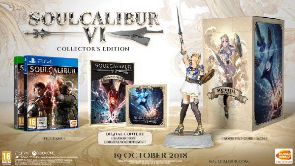 Появились дата выхода и новый трейлер SoulCalibur 6, в котором ведьмак Геральт дерется с персонажем из Tekken