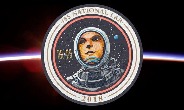 Ридли Скотт создал новую эмблему космической станции для миссии CASIS