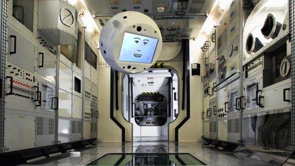 CIMON стал первым в мире помощником космонавта с искусственным интеллектом