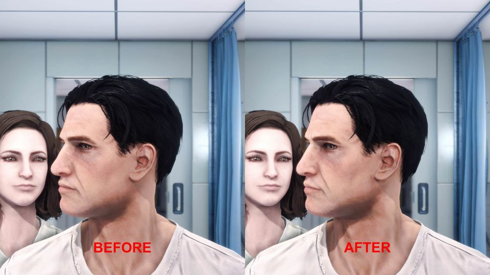 В Fallout 4 добавили высокополигональные лица и убрали квадратные подбородки