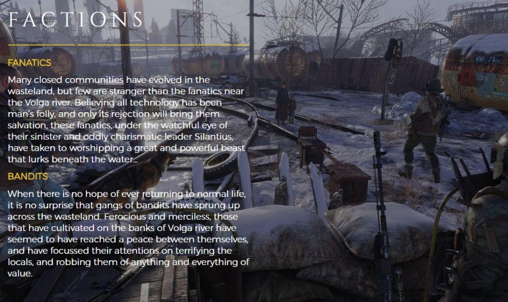 Каждое время года в Metro Exodus принесет новые опасности