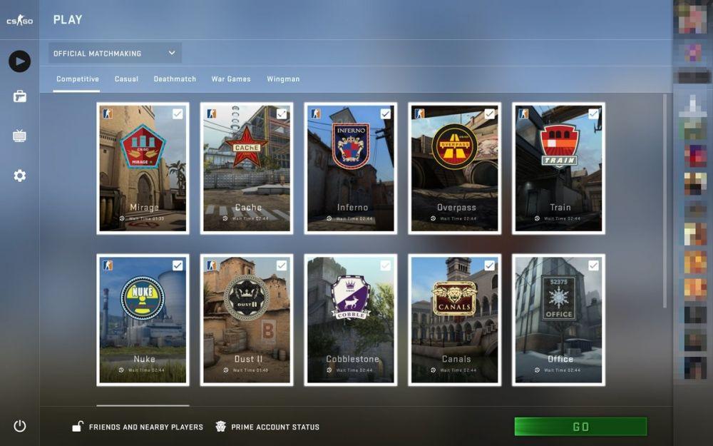 Посмотрите, как выглядит новый интерфейс в CS:GO
