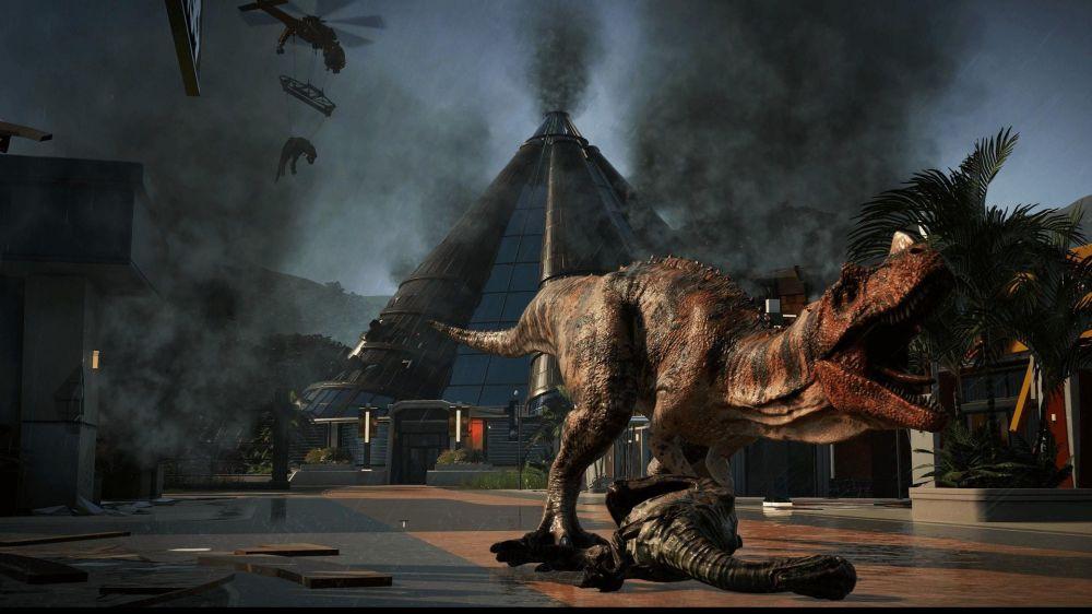 Большие хищные динозавры — магнит для денег. Жаль, что они не любят спокойно сидеть на месте и норовят сбежать