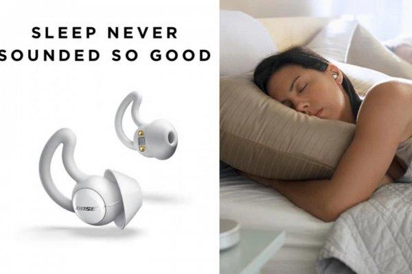 Bose создали беспроводные наушники, которые помогут уснуть