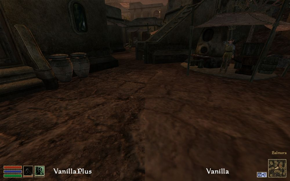 Моддеры добавили в TES 3: Morrowind огромный пакет HD-текстур