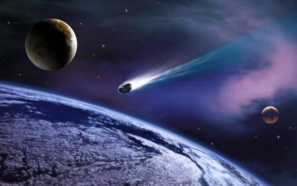 Ученые: Жизнь на Земле зародилась после падения метеоритов