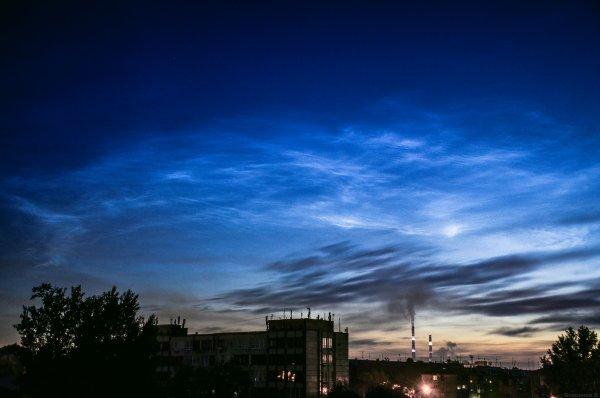 В небе над Пермью астрономы заметили серебристые облака