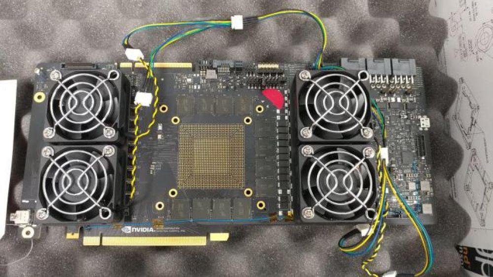 Слух: появились фотография и характеристики Nvidia GTX 1180