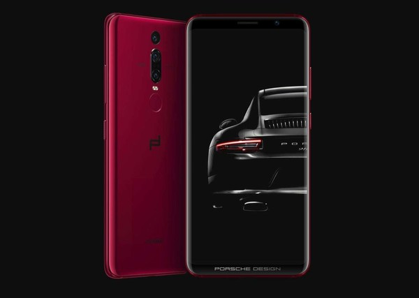 Концепт Xiaomi Mi Mix 3 Ferrari Edition