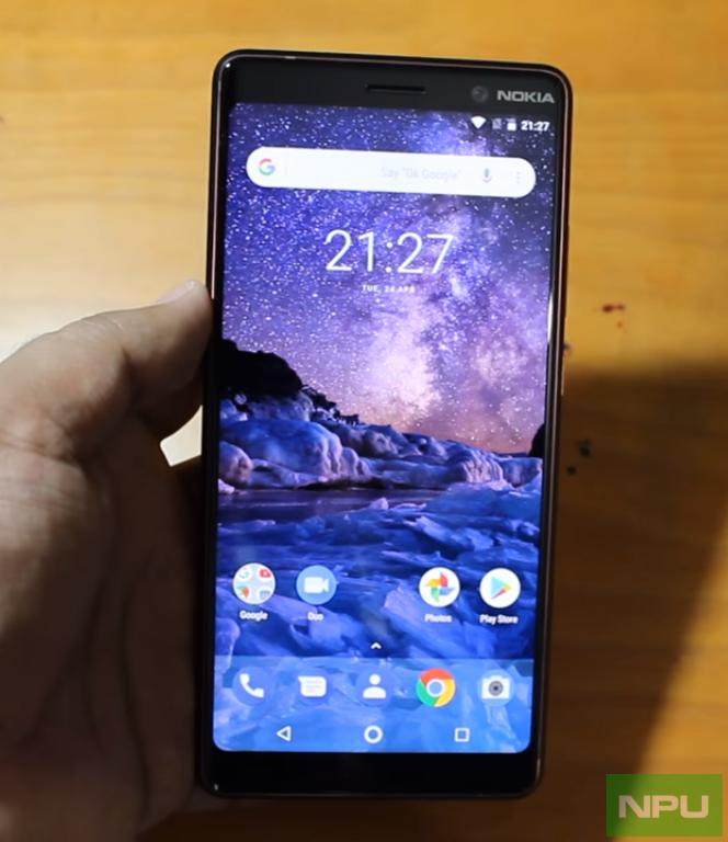 Nokia 7 Plus прошел тест на прочность