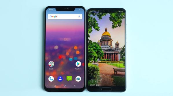 Дизайн UMIDIGI Z2 и сравнение с Huawei P20