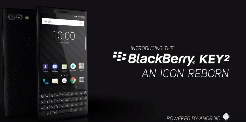 Представлен BlackBerry KEY2 с двойной камерой, Snapdragon 660 и ценником в $650