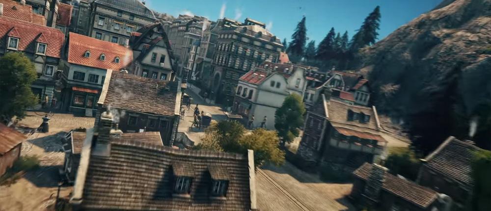 Детализированное градостроение стало темой нового ролика Anno 1800 с E3 2018