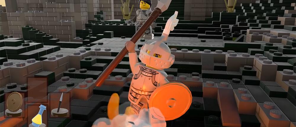 Фанат превратил LEGO Worlds в Dark Souls (видео)