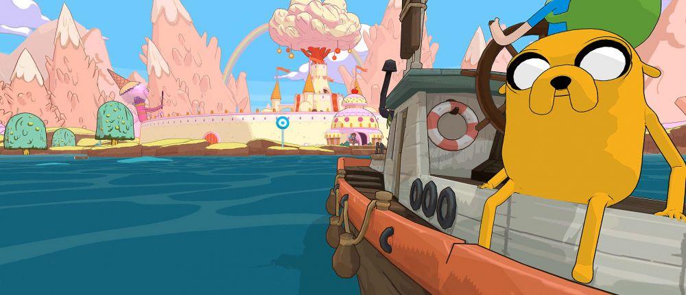 Финн верхом на Джейке по льду: 34 минуты геймплея Adventure Time: Pirates Of The Enchiridion